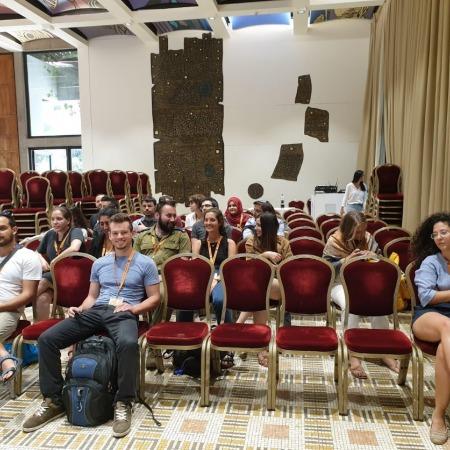 """ביקור קבוצת סטודנטים """"שיח ברוח תקוה ישראלית"""" בבית הנשיא"""